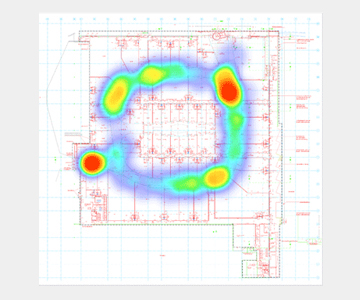 Heatmap Shopping-Mall
